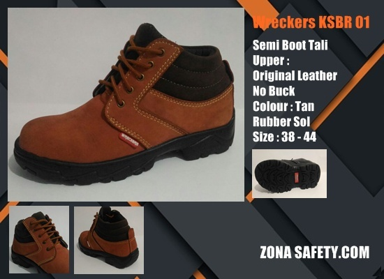 Sepatu Safety SNI Semi Boot Tali KS726C
