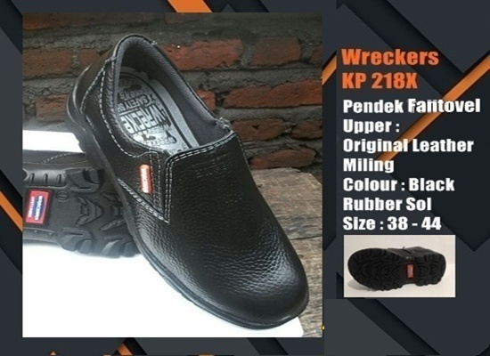 Sepatu Safety SNI Pendek fantovel  KP217X