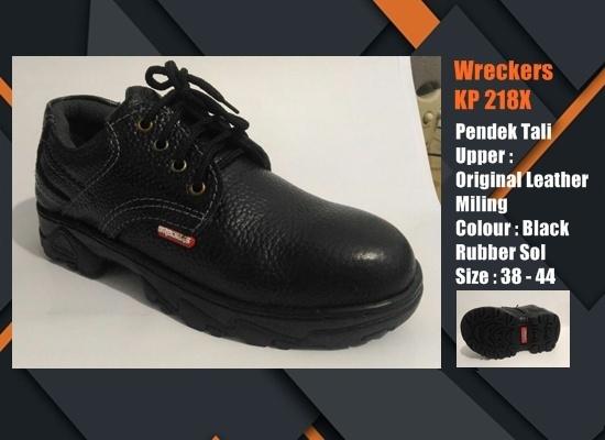 Sepatu Safety SNI Pendek Tali KP218X