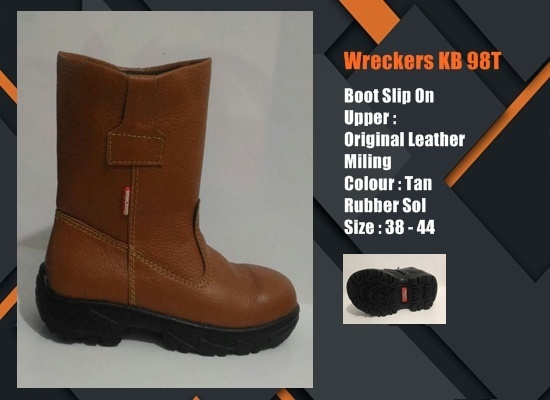 Sepatu Safety SNI Boot KB96T