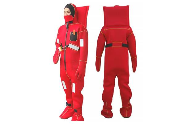 Solas Approved Marine Immersion Suit Type II Life Saving Immersion Suit