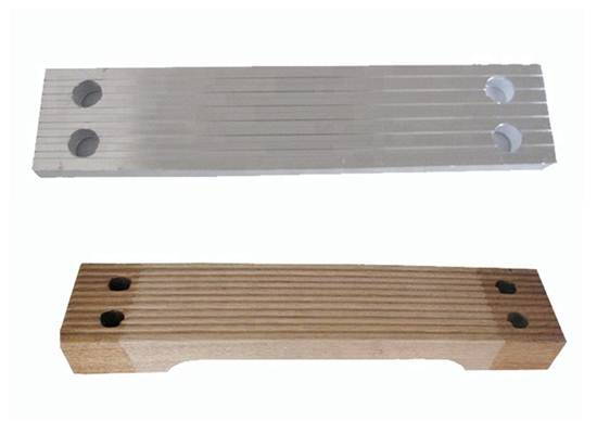 Marine Ladder Wood Step, Pilot Ladder Step, wooden/alu step
