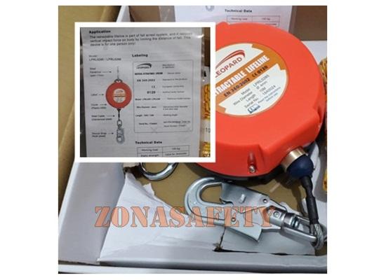 LPD RETRACTABLE LIFELINE LPRL0286 4mm 15M
