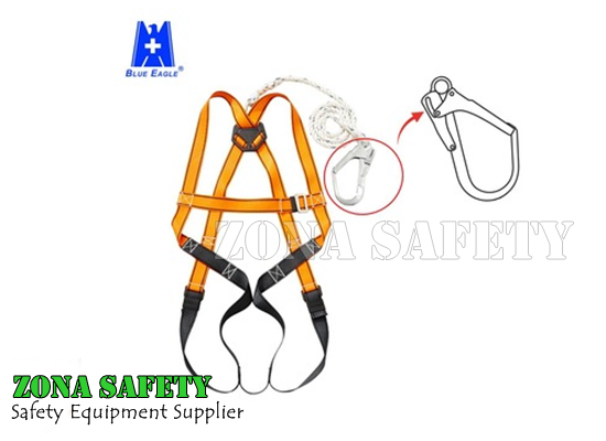 Full Body Harness Blue Eagle KA91H