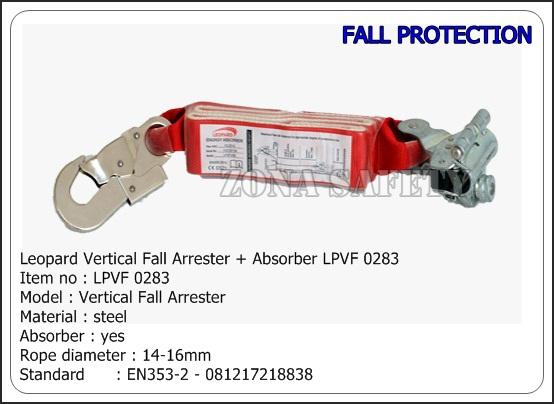 Leopard Vertical Fall Arrester  Absorber LPVF 0283
