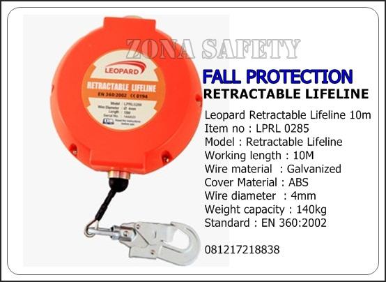 LPD RETRACTABLE LIFELINE LPRL 0285 4mm 10M