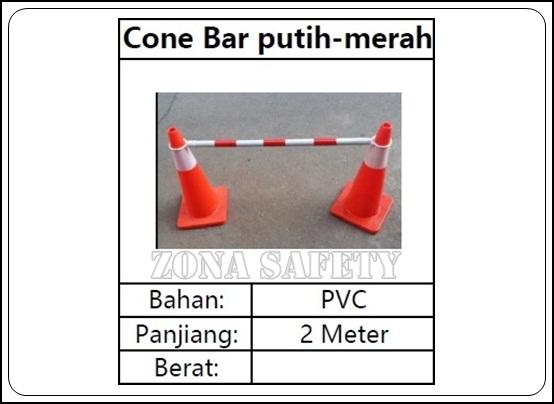 CONE BAR MERAH PUTIH